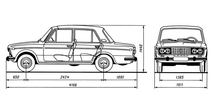 ВАЗ-2103, описание, история, характеристики | 356x720