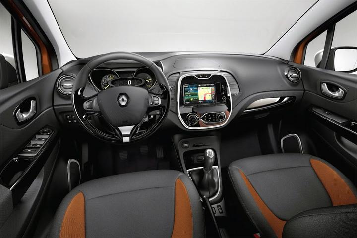 Интерьер Renault Captur
