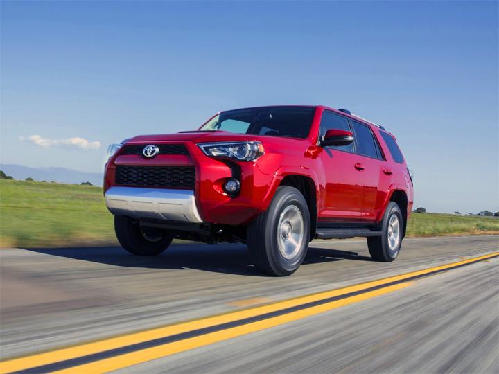 Toyota 4runner V рестайлинг