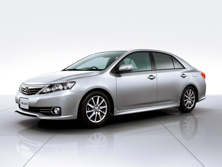Toyota Allion 2 рестайлинг