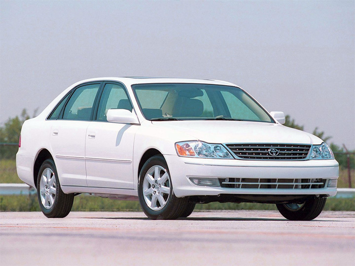 Toyota Avalon 2 рестайлинг