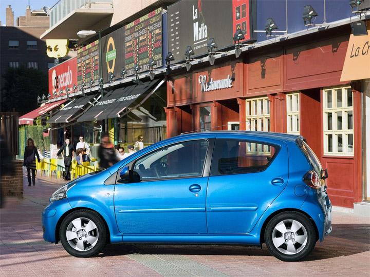 Toyota Aygo рестайлинг