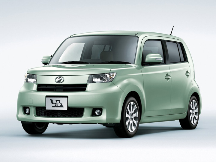Toyota bB 2 рестайлинг