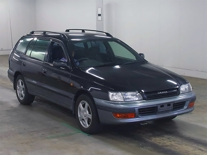 Toyota Caldina рестайлинг