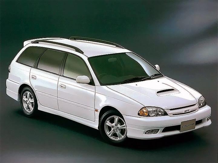 Toyota Caldina 2 рестайлинг