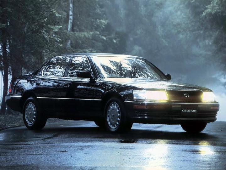 Toyota Celsior 1 рестайлинг