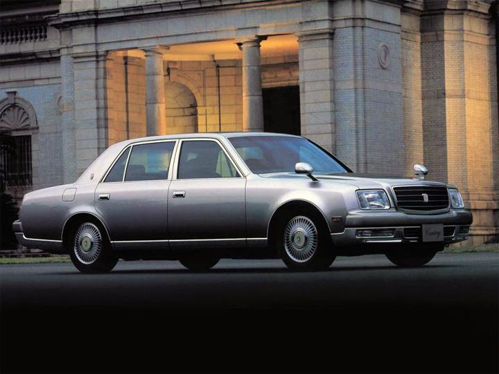 Toyota Century II рестайлинг