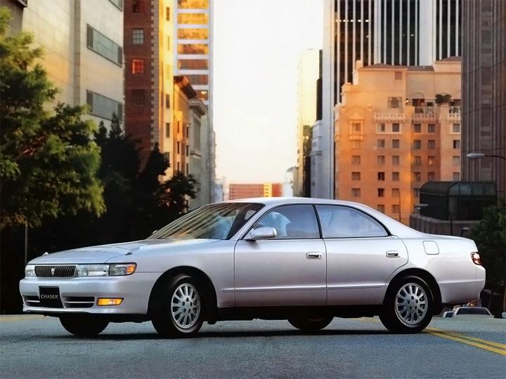 Toyota Chaser V рестайлинг