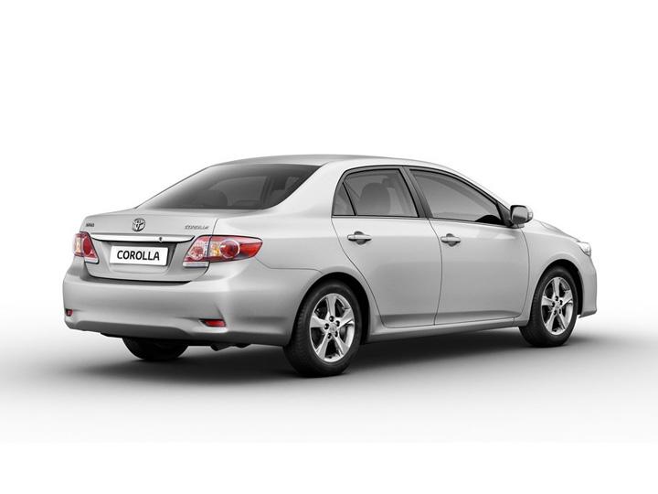 Toyota Corolla X рестайлинг