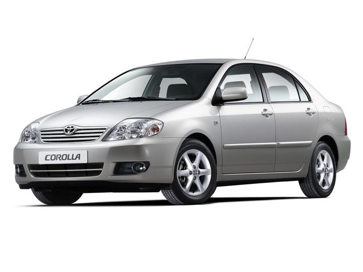 Toyota Corolla 9 рестайлинг