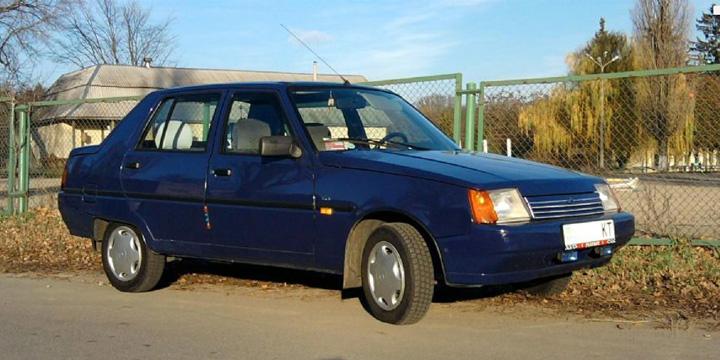 Технические характеристики ЗАЗ 1103 Славута