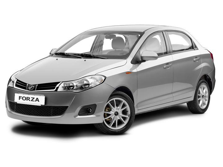 Технические характеристики ЗАЗ Forza лифтбек