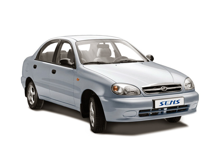 Технические характеристики ЗАЗ Sens седан